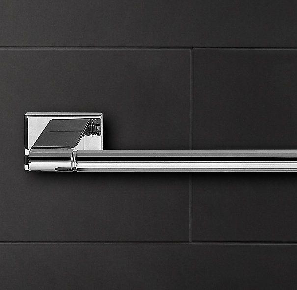 Modern Towel Bar   Towel Bars & Rings   Restoration Hardware ($85+)