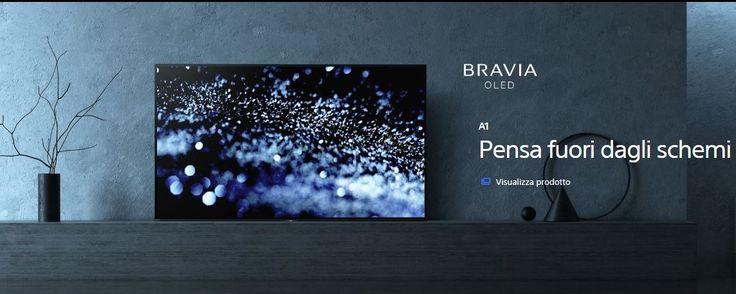 Sony sbarcano i TV Bravia Oled : si tratta dei primi televisori OLED di Sony, caratterizzati da livelli insuperabili di