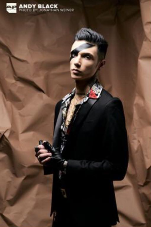 Andy Black For Alternative Press Photographed By Jonathan Weiner Andy Biersack Black Veil Brides Andy Andy Black