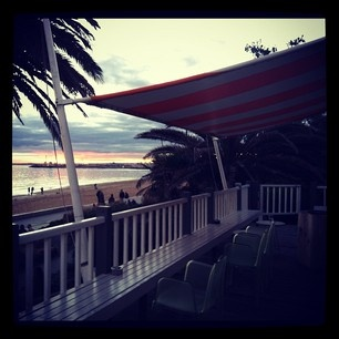 Upstairs Stokehouse St Kilda: View from Balcony
