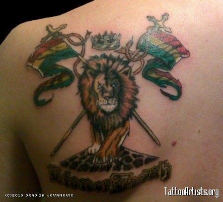 Ethiopian Flag Tattoo 44 best Jamaica Tattoo...