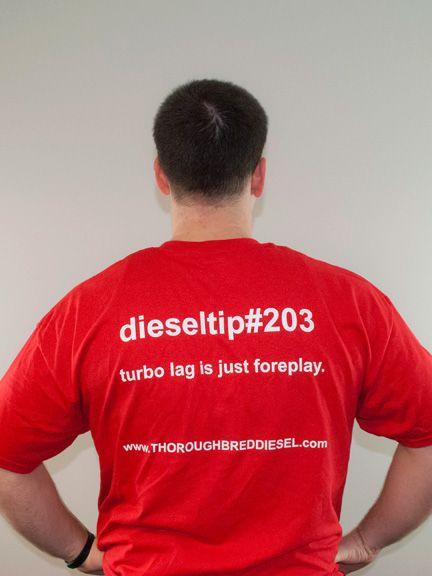 Thoroughbred Diesel DieselTip#203 T-Shirt