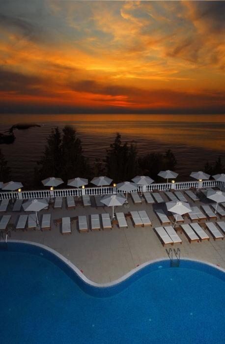 Beautiful Greek sunset. #Greece #Corfu