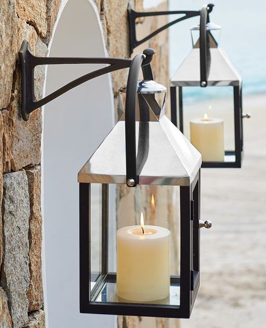 pottery barn outdoor lighting. a little something to light up the night decorative lanternslantern lightinggarden lanternspottery barnoutdoor pottery barn outdoor lighting