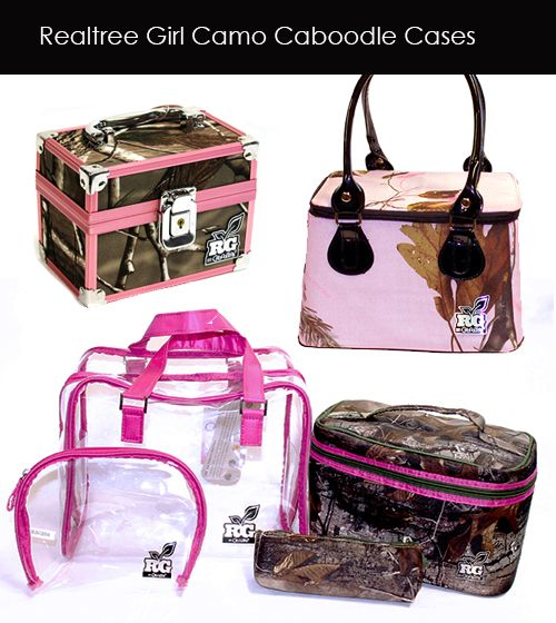 Realtree Camo Caboodles - Just Arrived.