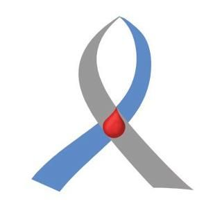 http://diabetes-miracle.digimkts.com This is just what I was looking for. The new official Type 1 Diabetes Awareness ribbon!! It is blue on one side and gray on the other since those colors are already identified with all types of diabetes, so we put them together with the red drop in the middle to make this ribbon specific to Type 1 Diabetes Awareness!!