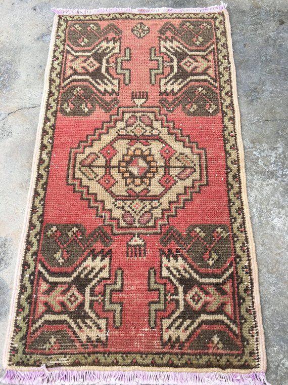 49x90 Cm 1 7 X3 Feet Oushak Rug