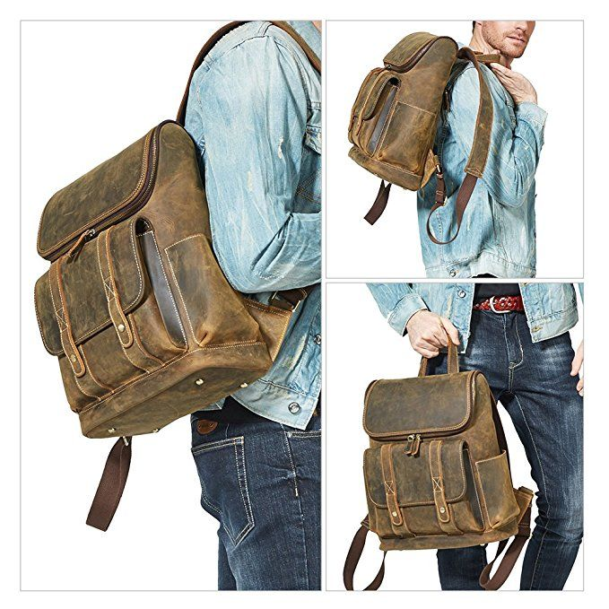 sneakers for cheap best supplier exclusive shoes Best Leather Backpack: WESTBRONCO Men Backpack Best Cowhide Travel ...