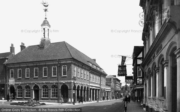 Farnham, Town Hall 1935