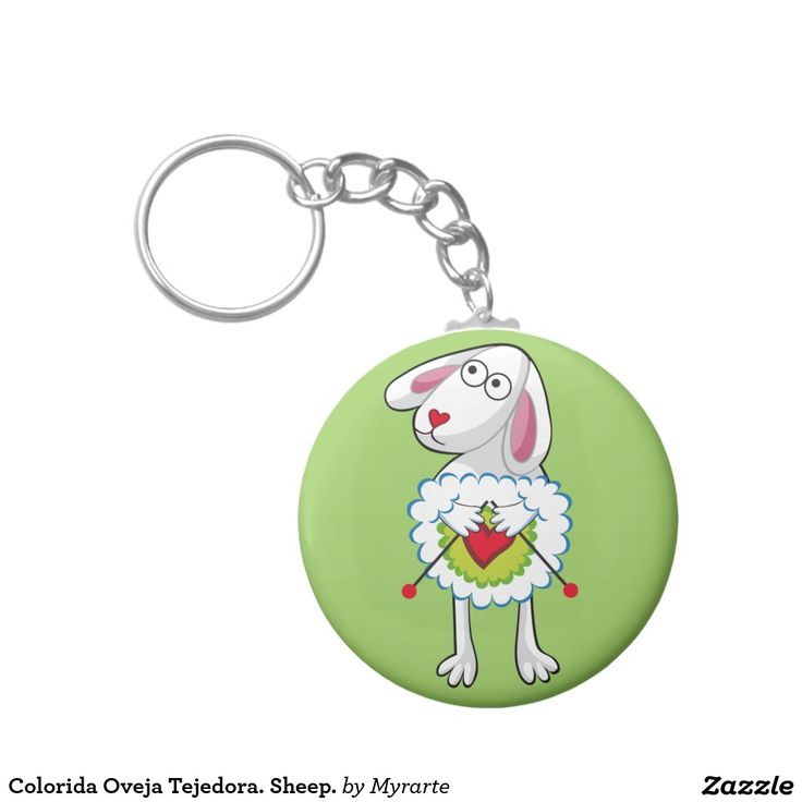 Colorida Oveja Tejedora. Sheep. Producto disponible en tienda Zazzle. Product available in Zazzle store. Regalos, Gifts. Link to product: http://www.zazzle.com/colorida_oveja_tejedora_sheep_basic_round_button_keychain-146752579863246287?CMPN=shareicon&lang=en&social=true&rf=238167879144476949 #llavero #KeyChain #oveja #sheep