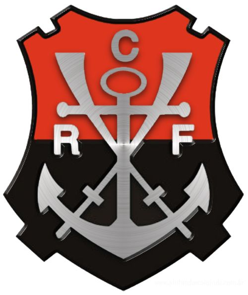 Ancient logo Clube de Regatas do Flamengo - Brazil