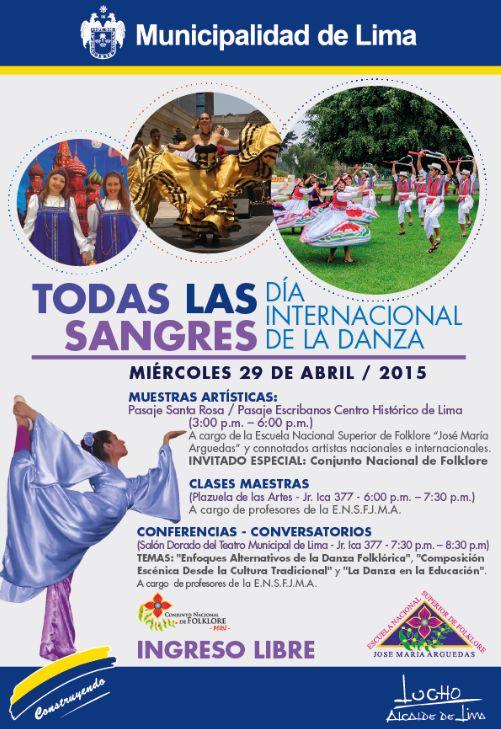 Día Internacional de la Danza en Lima