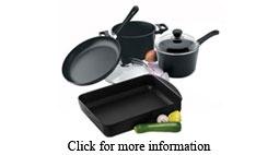 Scanpan Cookware Set, 4pc, Original