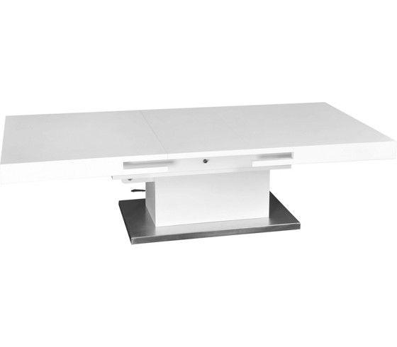 En iyi 17 fikir, Couchtisch Höhenverstellbar Weiß Pinterestu0027te - wohnzimmertisch höhenverstellbar und ausziehbar