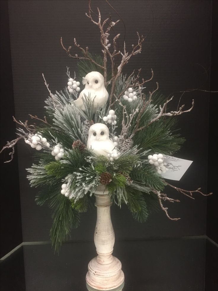 Best christmas floral arrangements ideas only on