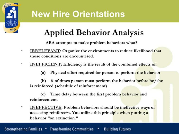 applied behavior analysis coursework Aba coursework at southern connecticut state university  the exam to become a board certified behavior analyst (bcba), an international certification in applied behavior analysis (aba) professionals with.
