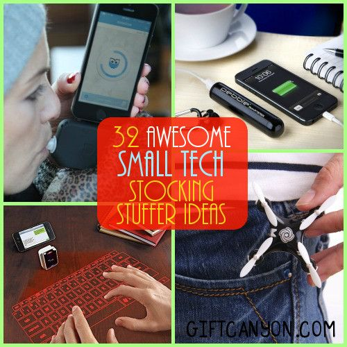 32 Small Tech Devices Stocking Stuffers for Children and Adults