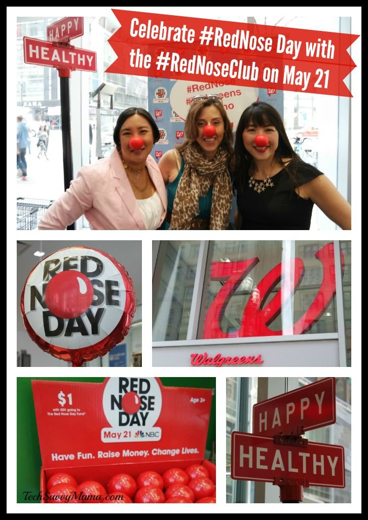 Celebrate #RedNose Day with the #RedNoseClub on May 21st Watch on NBC 8pm EST #Walgreens #Promo