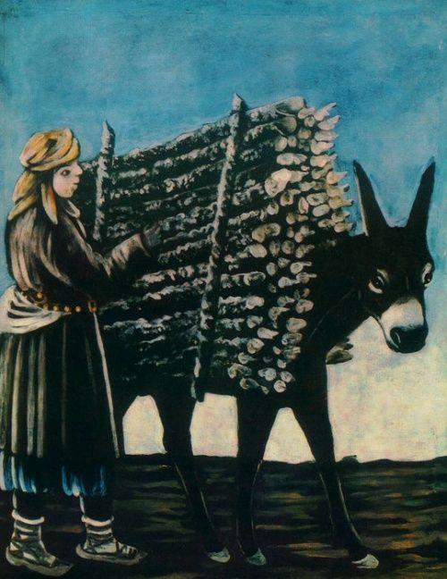 Нико Пиросмани — честный и нищий художник, писавший пронзительные шедевры на дешевой клеенке за еду.