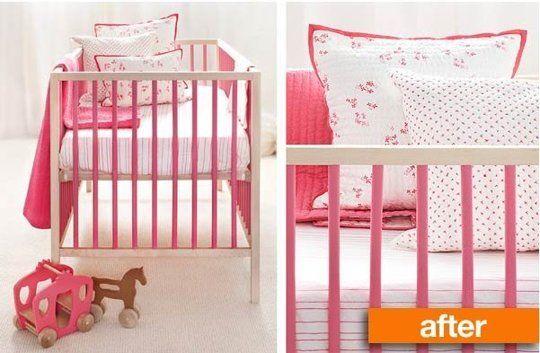 Before After Budget Ikea Sniglar Crib Goes Pretty In
