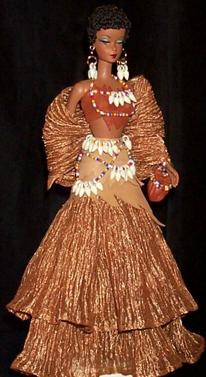 Barbie - Ibrahim Ismail outfit - National Barbie Convention 2003