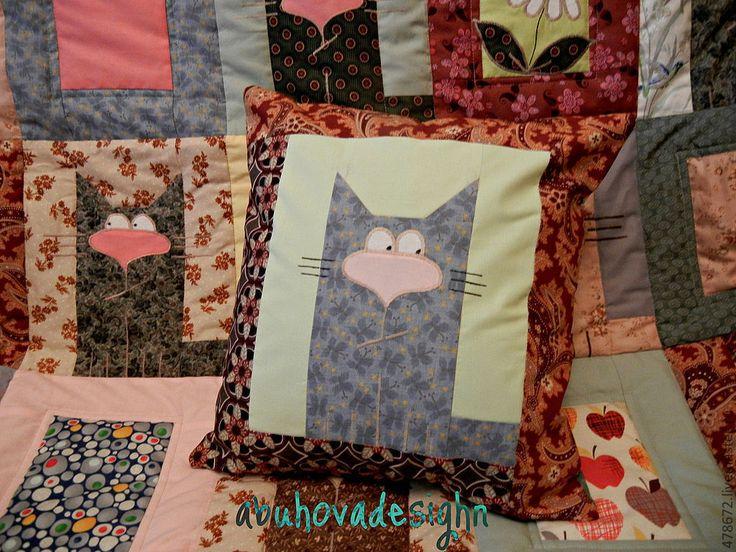 Купить Наволочки на подушку. - декоративная подушка, декоративная наволочка, лоскутная подушка, подушка, диванная подушка