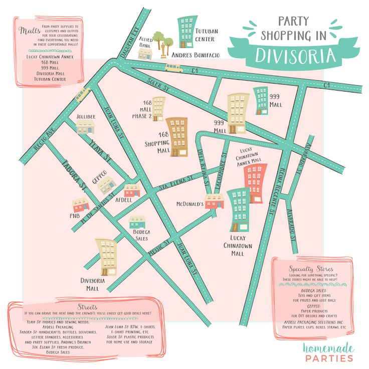 Where to buy party supplies in Divisoria