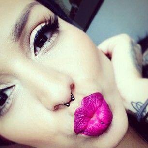 Septum Amp Ashley Piercing Piercings Pinterest