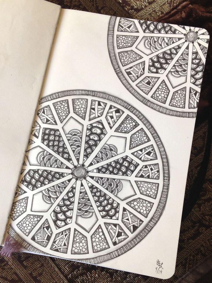IMG 2998 Picture Zentangle Drawings Mandala