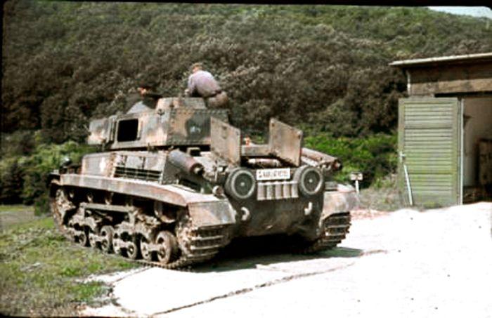 Turán Tank gyakorlaton.