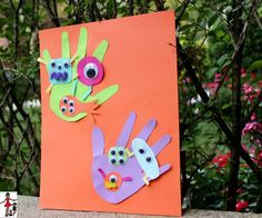 Icky Germs Craft For Kids