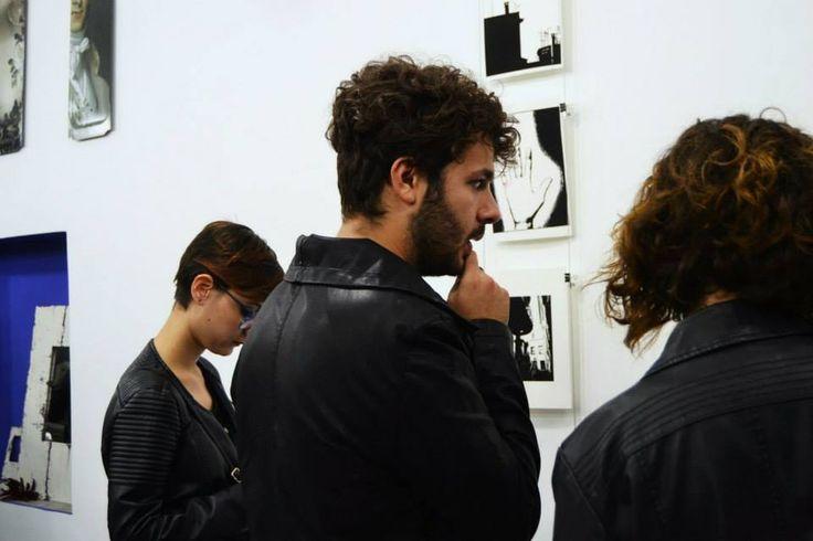 1/11/2014 - inaugurazione spazio galleria Parione9  Limited edition giclèe prints di Crù
