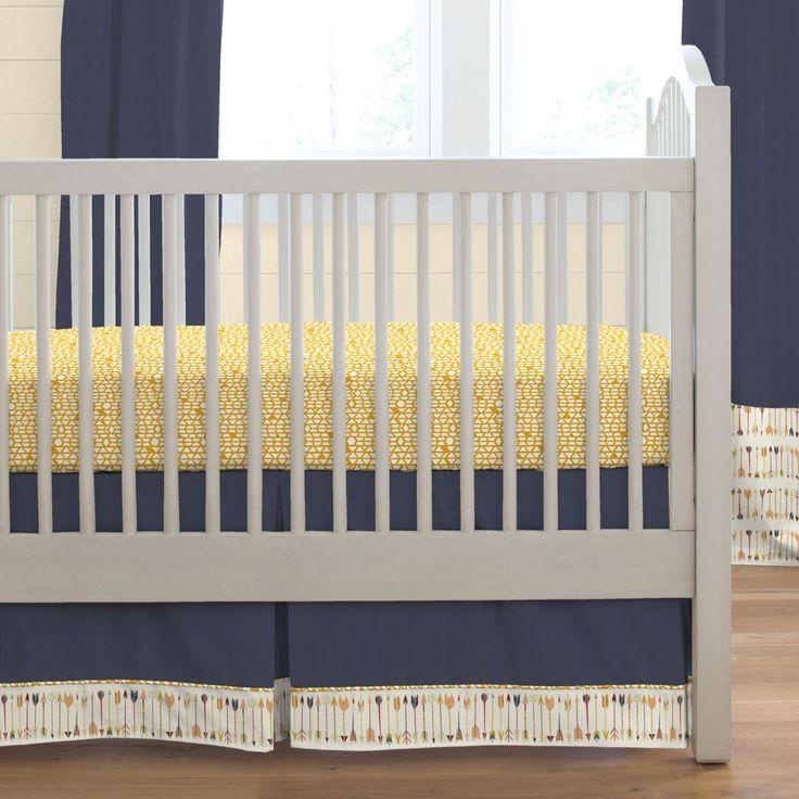 Tribal Arrow Boy Crib Bedding Set by Carousel Designs.
