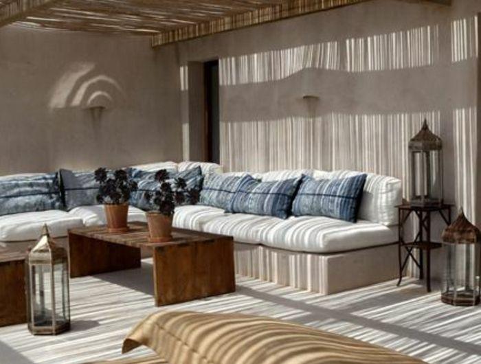 amenager-terrasse-avec-meubles-pas-cher-cnforama-design-moderne-d-extérieur