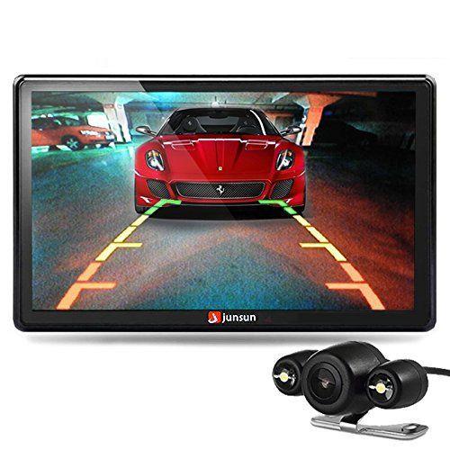junsun GPS Auto écran 7 pouces – Bluetooth – Vue arrière – Trafic et carte à vie intégrée Europe: Spécification: * CPU: MTK, MSB2531 ARM…