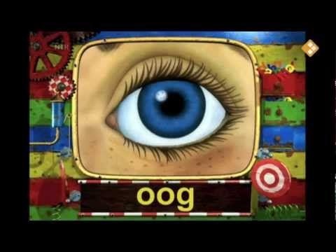 de letter oo van oog en loop