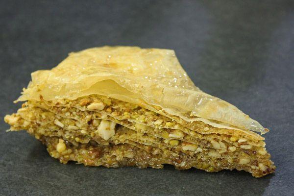 Baklava: pastel árabe - receta - Con Cuchillo y Tenedor