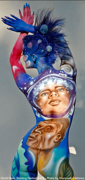 World bodypainting festival 2008  Photo by: Gianpaolo Dettoma