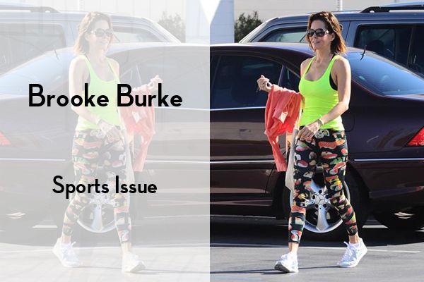 Εμπνεύσου από το look της Brooke Burke για τις πιο stylish αθλητικές εμφανίσεις: #KOOLFLY #ItsAmatterOfStyle #CelebStyle #BrookeBurke #fashion #style
