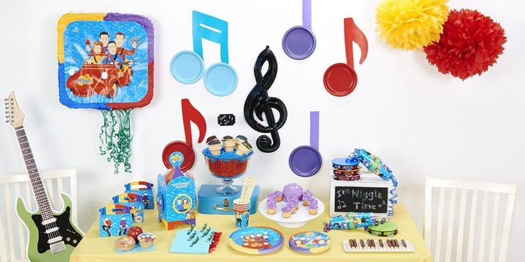 Rock n' Roll with The Wiggles at your next birthday celebration! #Party #Wiggles #Birthday