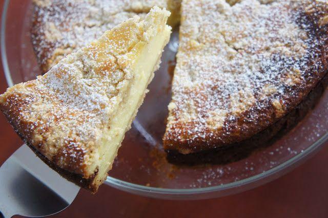 REZEPT: glutenfreier Käsekuchen mit Streusel