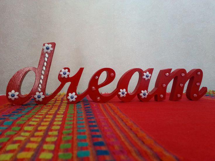 """""""Dream"""" wordart"""
