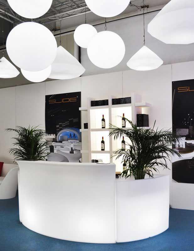 Slide Design Beleuchtete Theke Ice Bar kaufen im borono Online Shop
