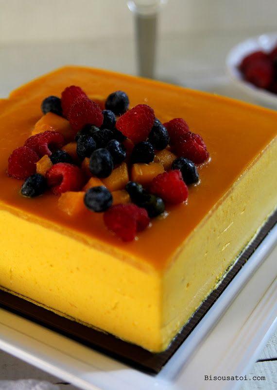 Portos Mango Mousse Cake Recipe
