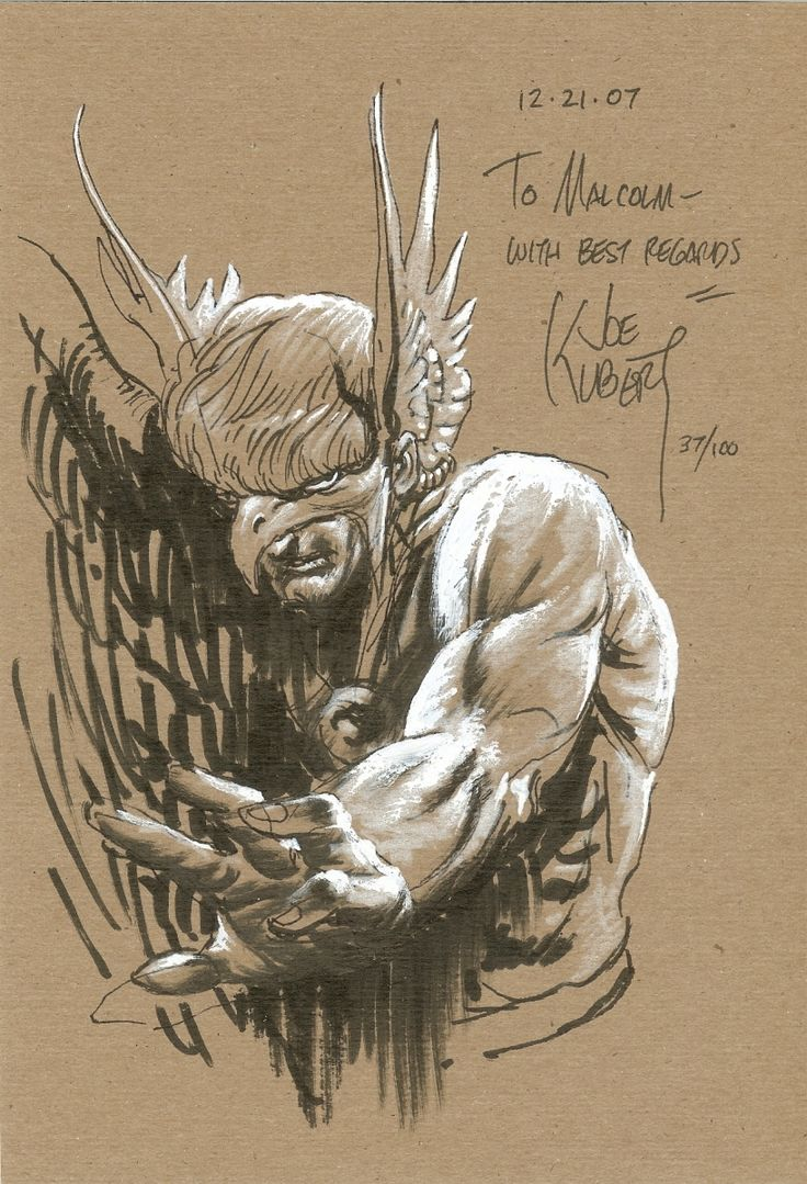 Hawkman by Joe Kubert