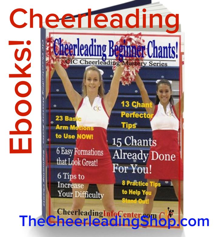 14 best cheerleading motions images on pinterest cheerleading do you need some cheerleading chants already choreographed for you check out the latest ebook fandeluxe PDF