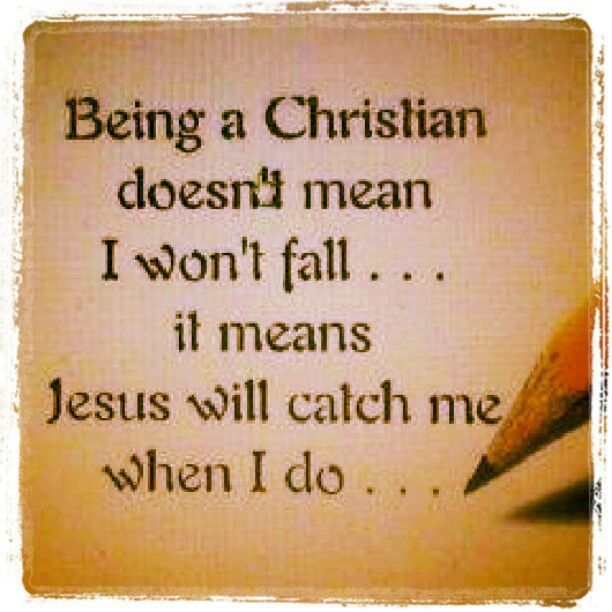 Just Because You're A Christian Does Not Mean All The Hard