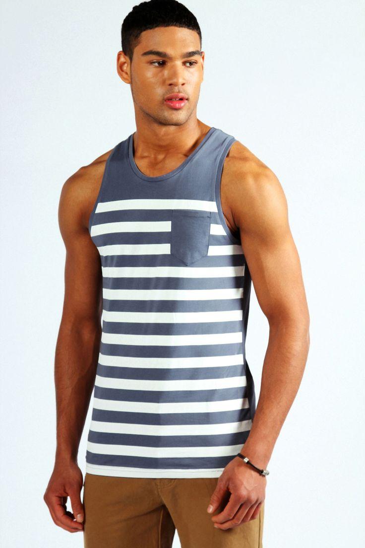 Pocket Stripe Vest