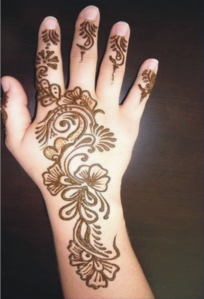 mehandi designs | Eid Hand Mehndi Design2 204x300 Eid Mehndi Design