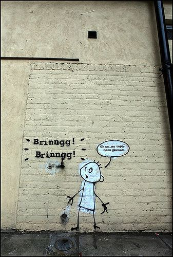 Banksy - Phone tapped